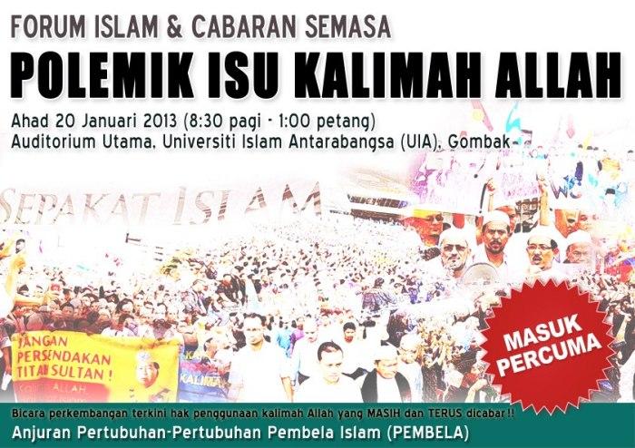 forum Kalimah Allah