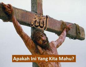 allah on cross