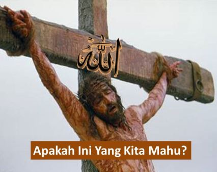 allah on cross